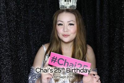 Chai's 25th Birthday Bash - 10th Sep 2016