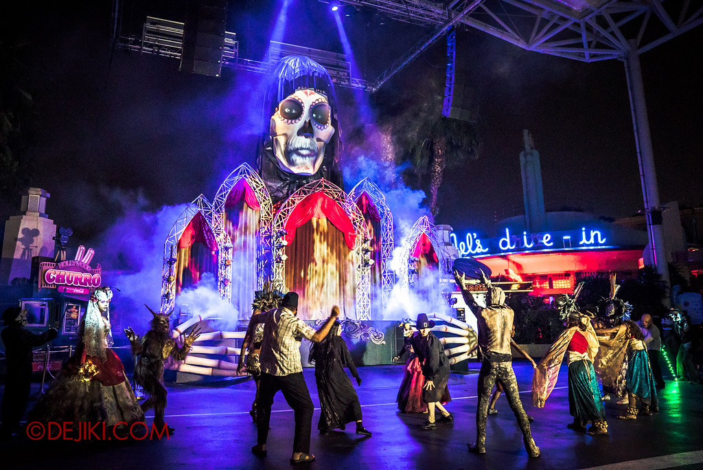 Halloween Horror Nights 6 Sneak Preview - Opening Scaremony
