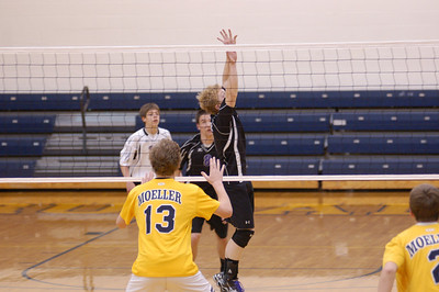 2012 Reserve Volleyball vs. Moeller