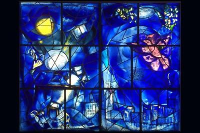 Chagall Windows - Chicago Art Institute
