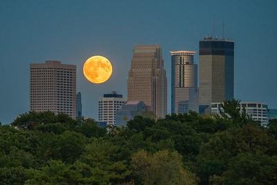 Lunar Eclipse Supermoon Sep 2015