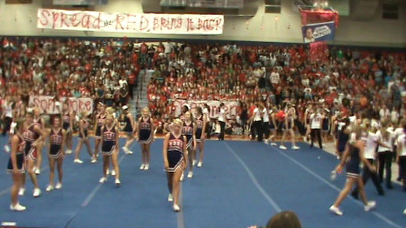 Homecoming Pep Rally Video 9-30-11