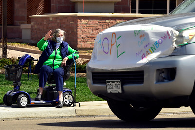 "Photos: ""Car Parade of Hope"" for Senior Living Community in Boulder"