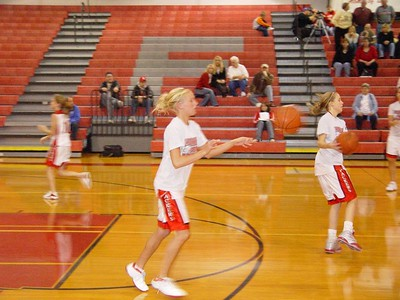 Girls Varsity Basketball  - 2005-2006 - 11/1/2005 vs West Michigan Christian