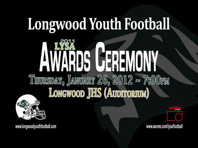 20120126 LYSA Football Awards Slideshow - FULL (VIDEO)