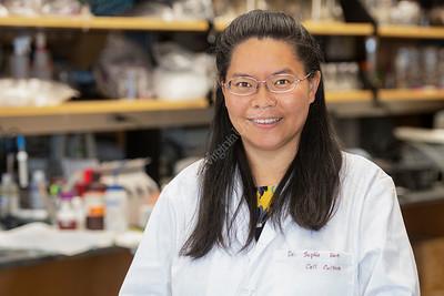 36633 Dr. Sophie  Ren Neuroscience Research Environmental Portrait August 2020