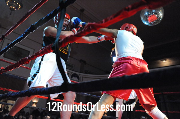 Bout # 6 Franklin Barnes(Cudell Rec-Cleve, OH)-vs-Mike Shook(Pittsburgh BC-Pitt, PA) Hvy Weight