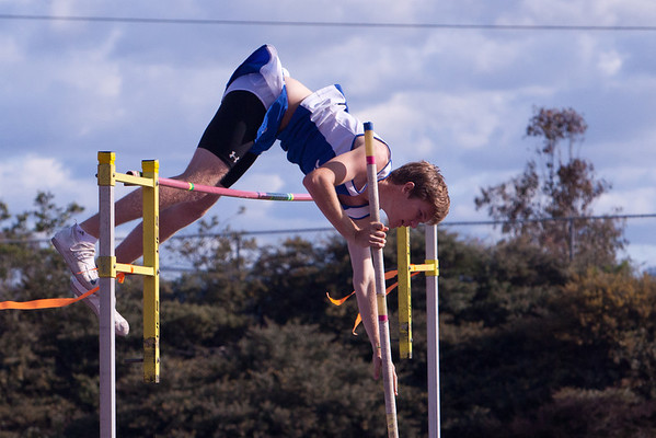 Josh Pole Vaulting vs Ramona at RBHS - 2012-04-11