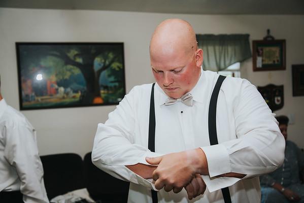 2. Dan getting ready