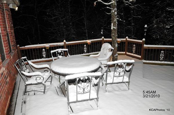 2010 Spring Break Snow Storm
