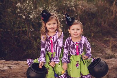 Delaney & Ella Mae Halloween