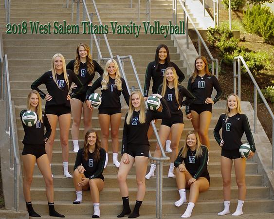 West Salem Volleyball - 2018