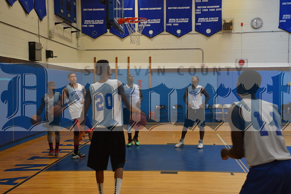 Monticello HS Basketball League championship