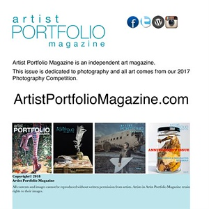 24.10.2017 - Artist Portfolio Magazine - Photography Competition