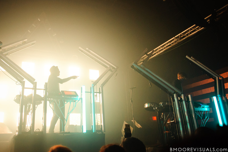 edIT and Ooah of The Glitch Mob perform in support of Drink The Sea on July 13, 2011 at Czar in Tampa, Florida
