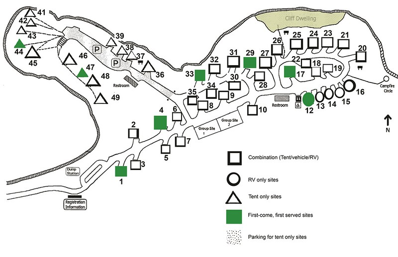 Chaco Culture National Historical Park (Gallo Campground)