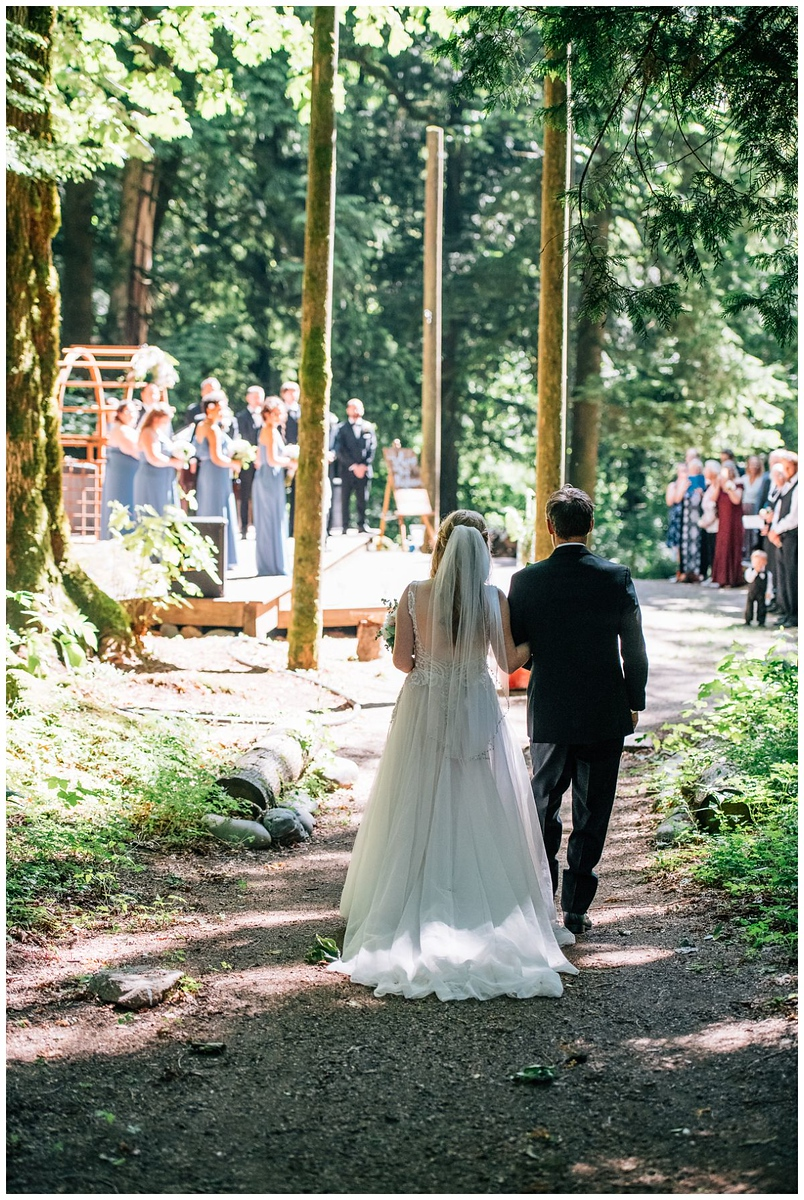 Mountain View Camp and Retreat Center Wedding