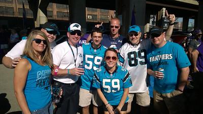 Panthers @ Ravens 28 September 2014