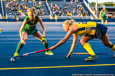 9-11-15 Michigan Field Hockey Vs Vermont
