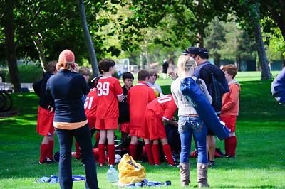 Mustang Soccer - 2010 - Team Revolution - Game 1