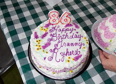 Granny Ryherd's Birthday 2011
