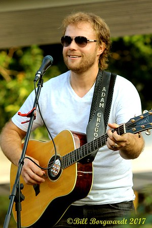 August 9, 2017 - Adam Gregory - Summer Sessions in Shikaoi Park in Stony Plain