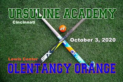 2020 Ursuline Academy at Olentangy Orange (10-03-20)