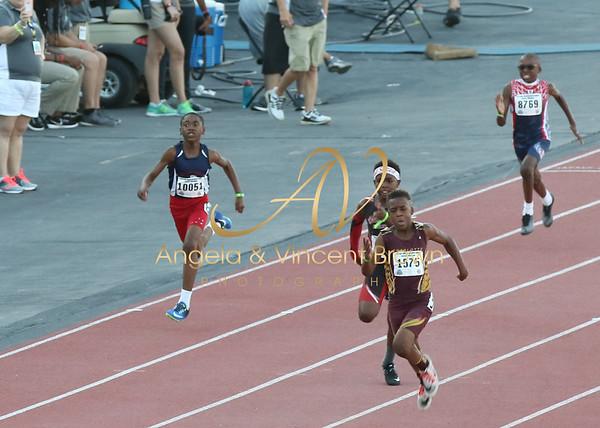 2017 AAU Jr Olympics_100 Dash Opening