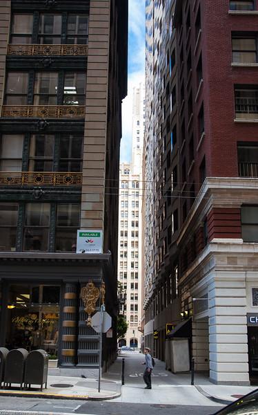 An Alley off Sutter Street