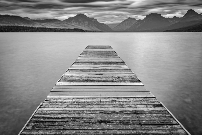 MacDonald Lake, Glacier