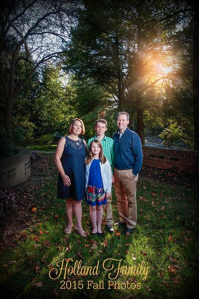 Holland Family 2015 Fall Photos