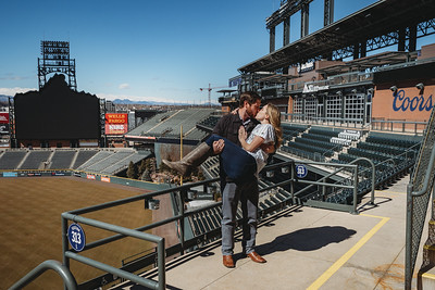 Matt + Presley Proposal | Coors Field - Denver, CO | 03.09.2019