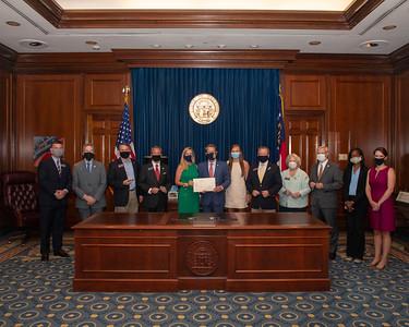 7.21.2020 Bill Signings