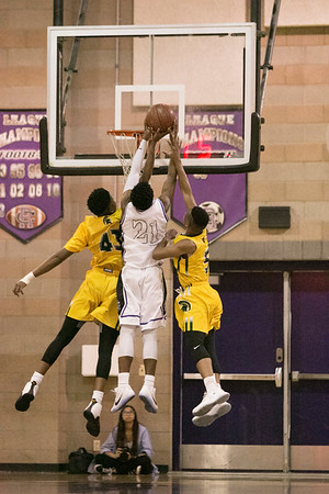 Damien High School vs Rancho Cucamonga HS Boys Varsity Basketball 20170120