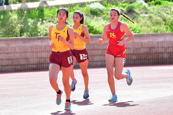 Track Meet vs Mt Carmel, 3-15-18