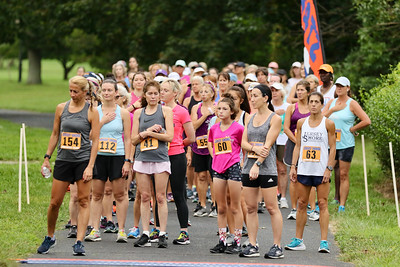 WOMEN IN THE PARK 5K RACE - Start and Finish