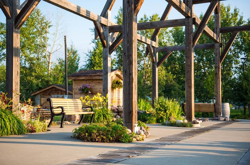 Leduc Stone Barn Garden