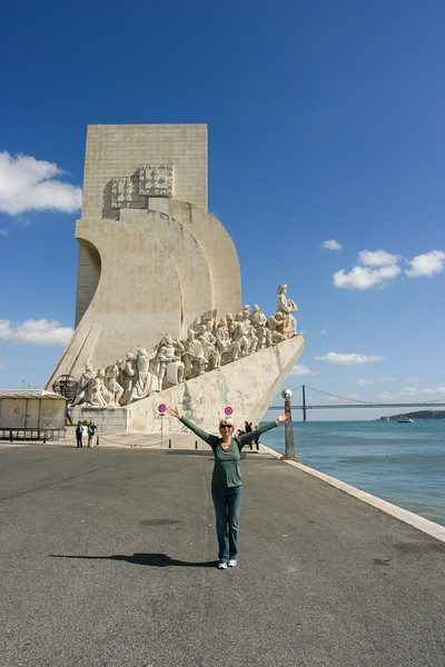 Lisboa Portugal - Monument to the Discoveries - March 2008