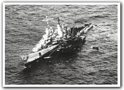 USS Reno (CL-96) & USS Zuni (AT/ATF-95)