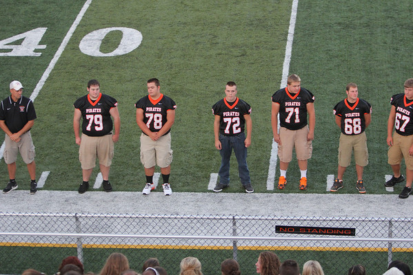 Football:  Wheelersburg  Meet the Team 2013