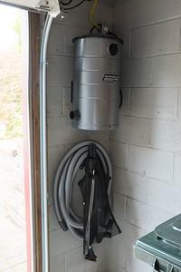 Garage Vac Install