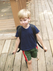 Eli First Day of School
