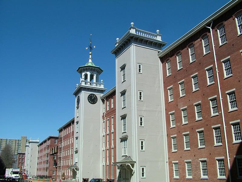Clock Tower - Boott Cotton Mills - Lowell, MA