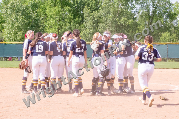 2019 06 11 Clarkston Varsity Softball vs Hartland