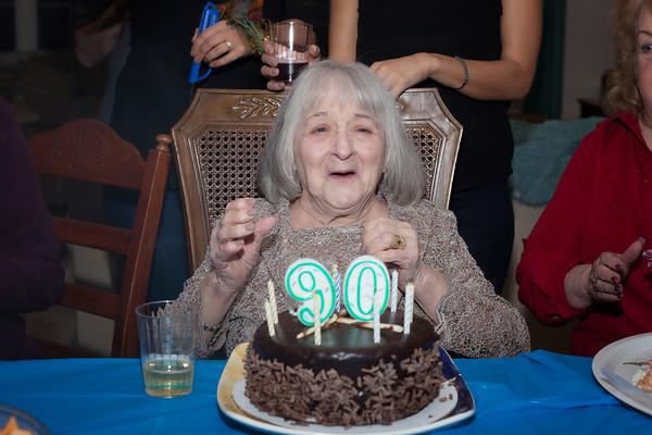 Mary's 90th Birthday Celebration