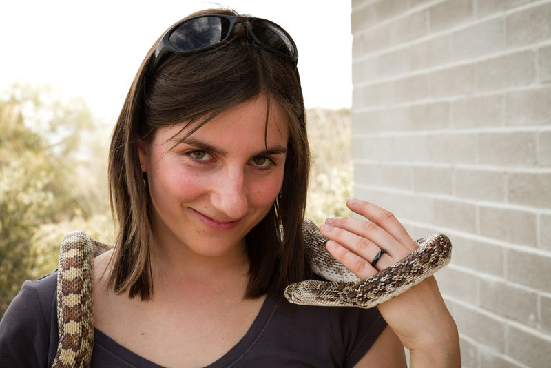 Pipla a její nová šála :-)