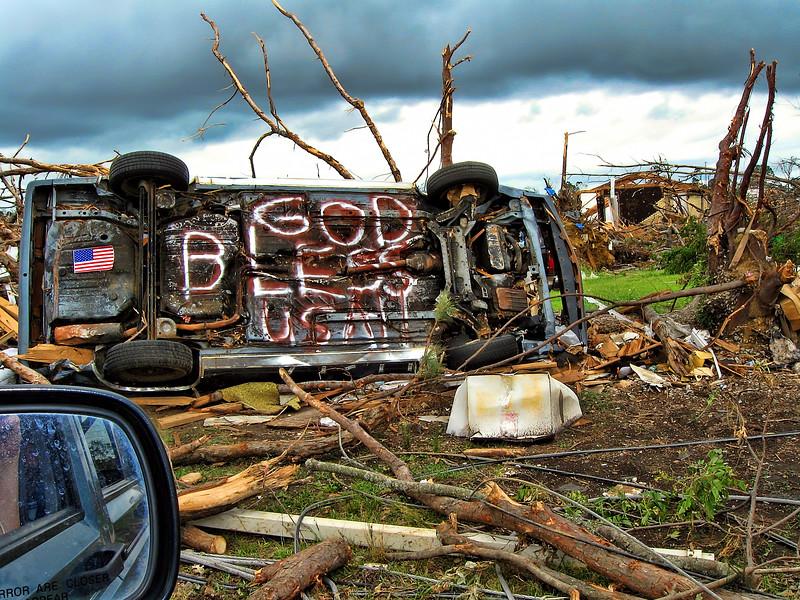 God Bless USA - April 2011 Jefferson County Alabama Tornado Damage