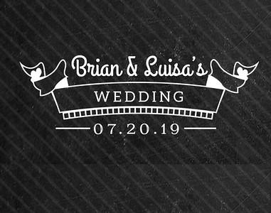 Brian & Luisa's Wedding!