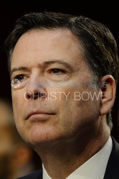 Former FBI Director James Comey testifies before the Senate Judiciary Committee regarding his conversations with President Trump.