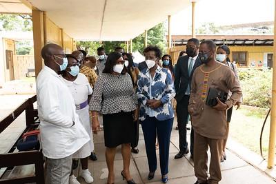 Visite centre vacination - Accra